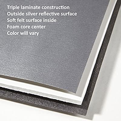 Covercraft UV11379SV Silver UVS 100 Custom Fit Sunscreen for Select Lexus Models - Laminate Material, 1 Pack: Automotive