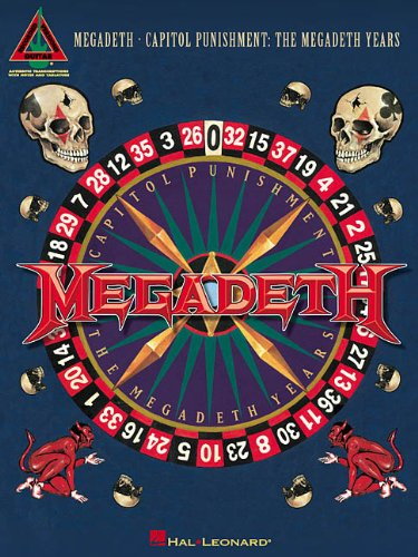 Download Megadeth - Capitol Punishment: The Megadeth Years (Guitar Recorded Versions) pdf epub