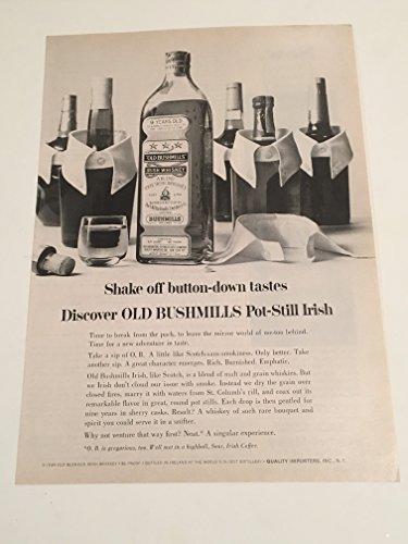 1966-bushmills-irish-whiskey-magazine-print-advertisement