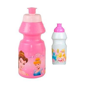 Redoplast - Botella/cantimplora plástico con diseño pricesas Disney, 17 cm (34125)