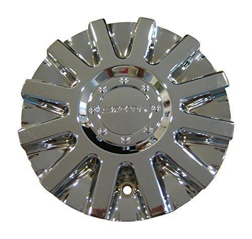 (Strada Spina Chrome Wheels Rim Center Cap S16 11212285F-1)