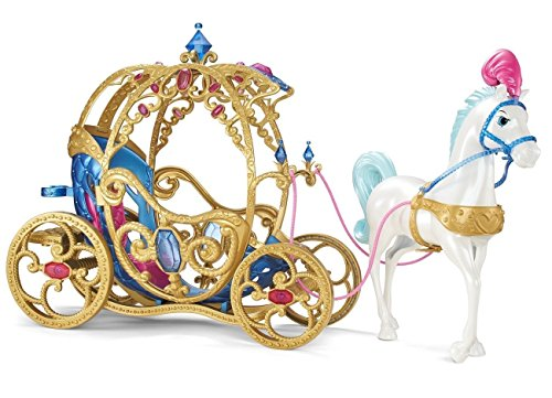 Disney Princess Cinderella Horse and Carriage(Discontinued by manufacturer)