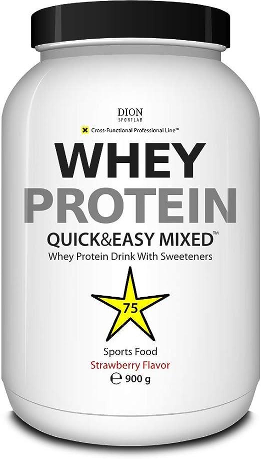 Dion Sportlab | Protein Whey | Whey proteínas – complejo proteínico de lactosuero | Las proteínas ayudan a aumentar la masa muscular ya mantener la ...