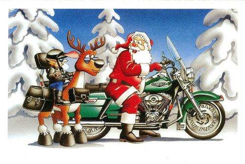 merry christmas harley davidson