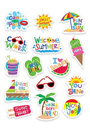 Creative Teaching Press Summer Fun Stickers (2115) ()