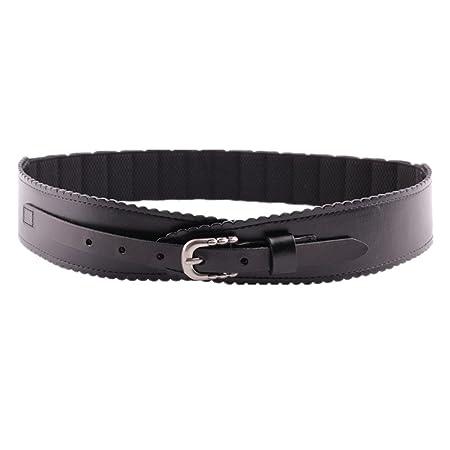 Gububi Cinturón de Cuero Superior de la señora Cintura Retra para ...