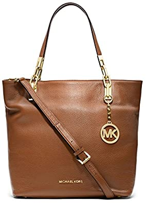 michael kors brooke medium tote luggage shoes. Black Bedroom Furniture Sets. Home Design Ideas