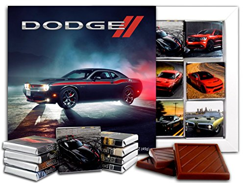 DA CHOCOLATE Candy Souvenir DODGE Chocolate Gift Set 5x5in 1 box (Headlamps) ()