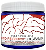 Cheap Red Reishi Mushroom Powder | 30 Grams | Ganoderma lucidum | Organic Whole Fruiting Body Mushroom Extract | Supports a Healthy Immune System
