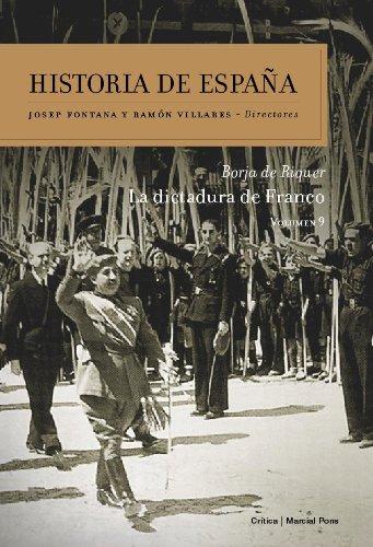La dictadura de Franco: Historia de España Vol. 9: Amazon.es: Riquer Permanyer, Borja de: Libros
