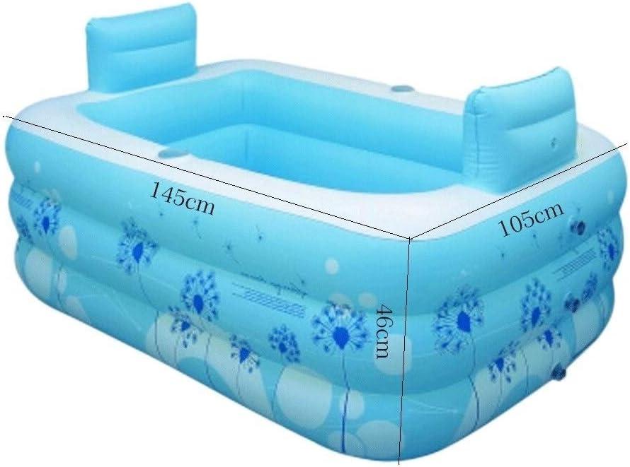 BEANDENG La Piscina Inflable for baño Aumenta el Engrosamiento de ...