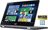 Acer R5-571T 2-in-1 Flagship Premium Convertible Laptop (15.6 Inch FHD IPS Touchscreen, Intel Core i5-6200U up to 2.8GHz, 8GB RAM, 1TB HDD, Intel HD 520, Windows 10 Home) (Certified Refurbished)