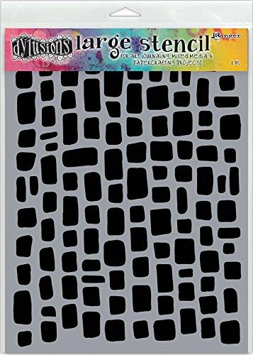 Ranger Sugar Lumps Dyan Reaveley's Dylusions Stencils 9