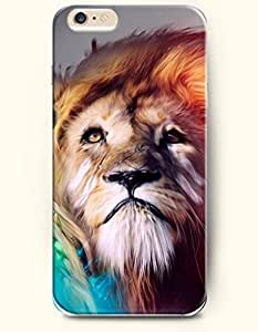 SevenArc New Apple iPhone 6 ( 4.7 Inches) Hard Case Cover - Lion