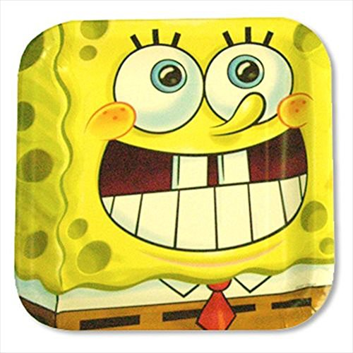 SpongeBob SquarePants 'Party' Large Paper Plates (16ct) -