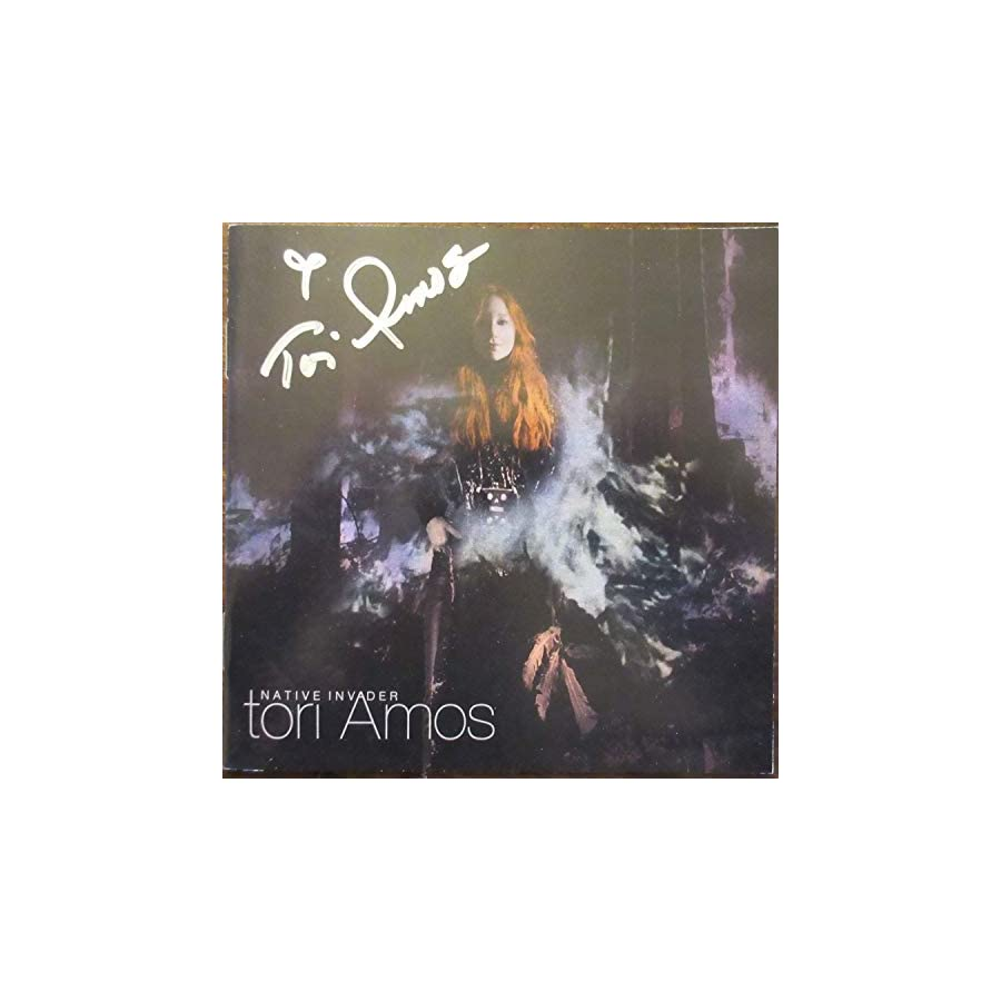 Tori Amos Autographed Signed Cd Booklet Beckett Authentic