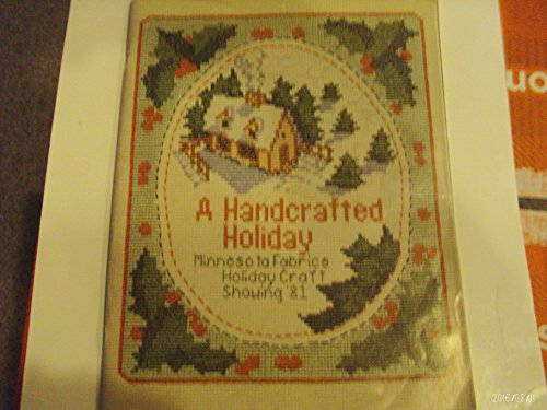 A Handcrafted Holiday: Minnesota Fabrics Holiday Craft Showing (Victorian Bears Stocking)
