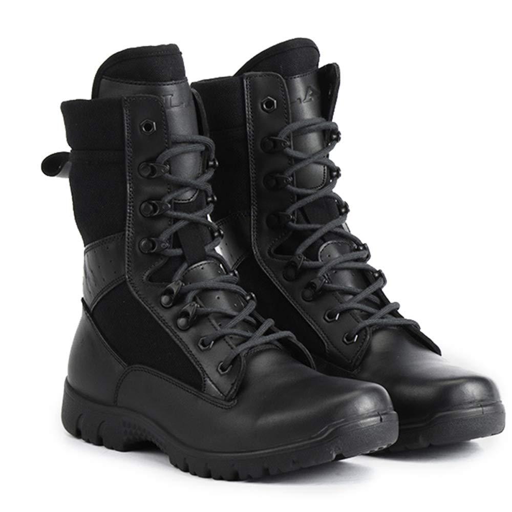 JPFCAK, Militärstiefel, Spezialeinheiten, Kampfstiefel, Polizeistiefel, Wüste, Taktische schwarz Stiefel, Landkriegsführung, Wanderschuhe, Militärschuhe schwarz Taktische c1d8e4