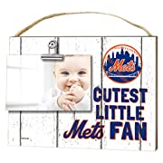 KH Sports Fan 10 x 8  New York Mets Clip It Weathered Baby Logo Photo Frame