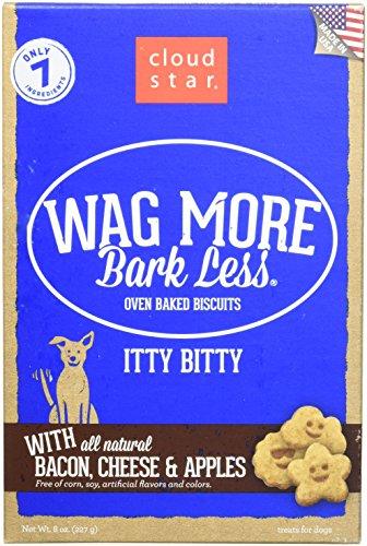 Recipes Treat Dog Apple (CloudStar Wag More Bark Less Oven Baked Bacon Apple Natural Recipe Dog Treats 8z)