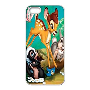 Happy Bambi Case Cover For iPhone 5S Case