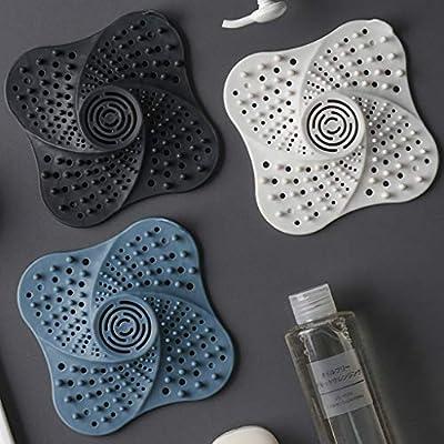 ♛ Euone Filter Net ♛ Bathroom Drain Hair Catcher Bath Stopper Plug Sink Strainer Filter Shower (Black): Toys & Games