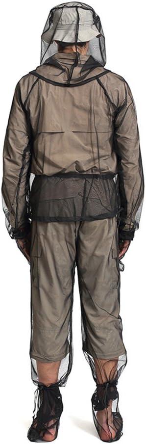 UVAN ART Tenue De Anti Moustique P/êche Apiculture Combinaison Maille Ultra Legere Insecte V/êtements de Protection Homme Femme Camping Plein Air Explorer Portable