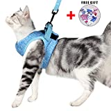Cat Harness and Leash Set for Walking 360° wrap-Around Small Cat and Dog