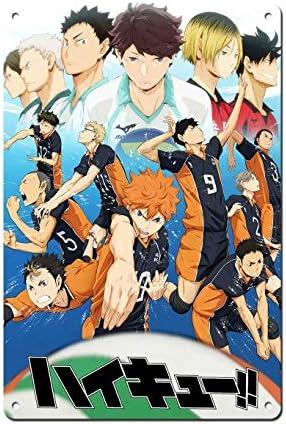 Wonderful Life A Haikyuu Poster - Japan Manga Poster Tin Poster Japan Anime Poster Comic Poster Cartoon Poster 8 x 12 inch(20x30cm)