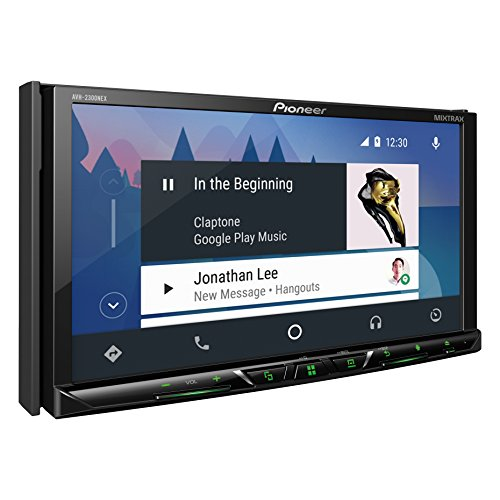 Pioneer AVH-2300NEX Multimedia DVD Receiver with 7'' WVGA Display/Apple CarPlay/Android Auto/Built-in Bluetooth/SiriusXM-Ready/AppRadio Mode + by PIONEER (Image #2)