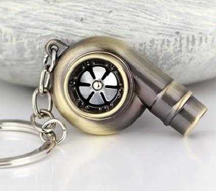 neon Portachiavi//fischietto a forma di turbocompressore