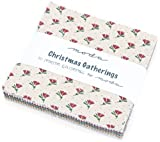 Christmas Gatherings Charm Pack By Primitive Gatherings; 42-5'' Precut Fabric Quilt Squares