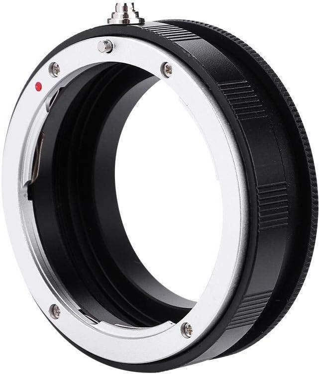 Black Rear Lens Filter Ring Plastic Alloy Lens Reversing Adapter for Nikon F AI Canon EOS Mounts AI-52mm Mugast Reverse Macro Adapter