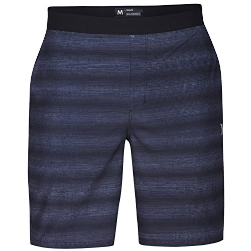 Hurley Men's Alpha Trainer Slider 18.5 in Boardshort, Black (00A), Medium
