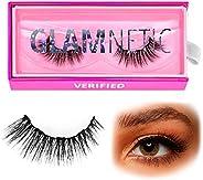 Glamnetic Lashes - Verified | Vegan Magnetic Eyelashes, Long Cat Eye Faux Mink Lashes, Winged Flared Natural V