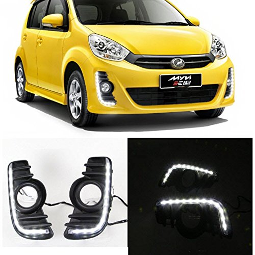auptech-car-daytime-running-lights-led-drl-daylight-fog-lamps-kit-for-perodua-myvi-2011-to-2014
