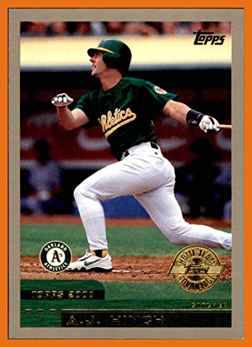 2000 Topps HTA Home Team Advantage #349 A.J. Hinch A'S ATHLETICS Currently Manager 2017 World Series Champion Houston Astros (Champion Advantage)