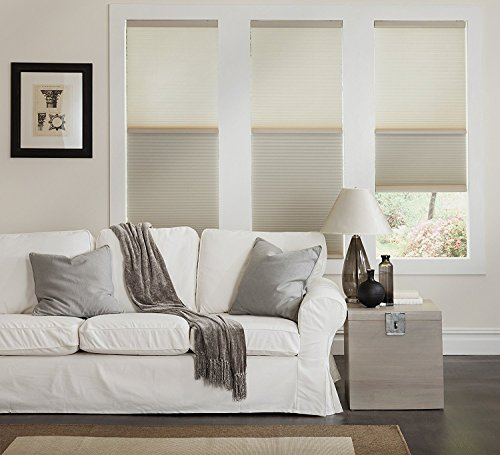 Mirage Day Night Cordless Cellular Shade - Ivory (23Wx48L)