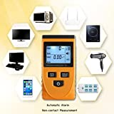 Qisuw Digital Electromagnetic Radiation Detector EMF Meter LCD Dosimeter Tester Tools