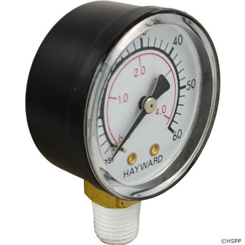 (Hayward ECX270861 Boxed Pressure Gauge Replacement for Select Hayward Sand and D.E. Filter)