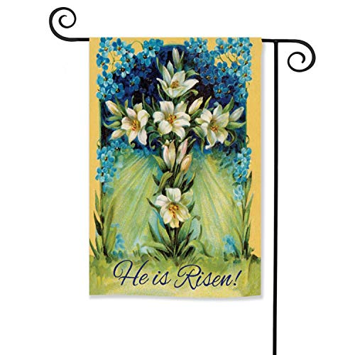 religious outdoor easter flags - 4