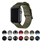 Archer Watch Straps | Premium Nylon Replacement Bands for Apple Watch (Olive, Black, 38mm) Review