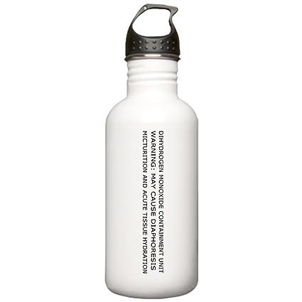 55cd44c747 Amazon.com: CafePress - Dihydrogen Monoxide Containment Water Bottle -  Stainless Steel Water Bottle, 1.0L Sports Bottle: Kitchen & Dining