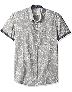 Men's Bloom Field Diver Woven Top