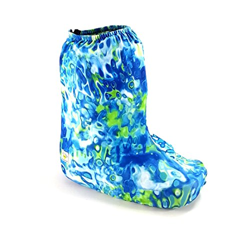 My Recovers Walking Boot Cover for Fracture Boot, Fashion Cover in Tranquility, Sizes Extra Small thru Large, Short Boot, Made in USA, Orthopedic Products Accessories (Small) ()