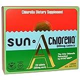 500mg Sun Chlorella, Sun Chlorella A, 500 mg, 120 Tablets - 2pc