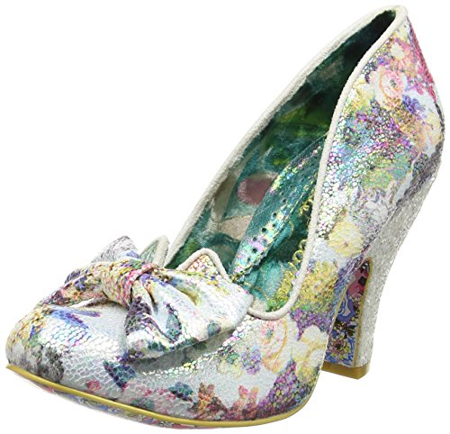 Irregular ChoiceNick Of Time - Zapatos de Tacón mujer Multicolor - Multicolor (Floral Print)