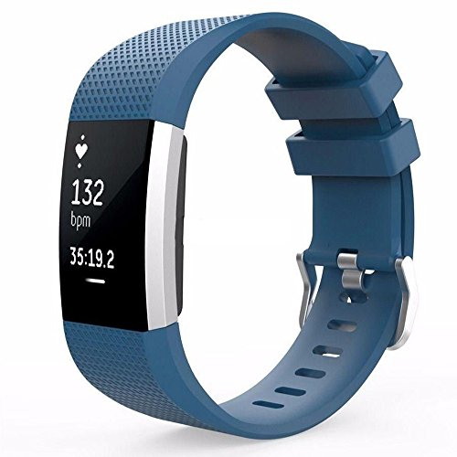 Silicone Adjustable Replacement Smartwatch Wristband