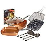 Copper Chef 10 Piece Cookware Set -...
