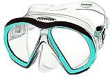Atomic Aquatics Subframe Mask Clear/Aqua (Standard)